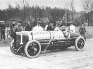 Sunbeam 350hp (Later BLUE BIRD) Jean Chassange c.1921 at Brooklands . photo
